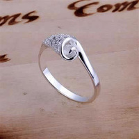 R165 Wholesale! Wholesale 925 silver ring, 925 silver fashion jewelry, fashion ring