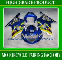 ABS Customize race motobike parts for SUZUKI GSXR 600 GSXR 750 K1 2001 2002 2003 high quality bodywork fairings kit