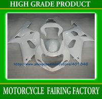 Free shipping SUZUKI ABS glossy white bicycle part GSXR 600 GSXR 750 K1 2001 2002 2003 bodywork fairings kit