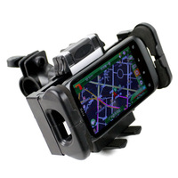 Motorcycle electric bicycle navigator gps fitted mount base cell phone holder navigation frame mobile phone holder