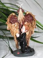 Religious figurine christian handicraft /resin handicraft /religious furnishing/angel craft