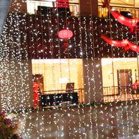 Hot sale 8*3M 220V LED holiday string light,,led curtain light,led christmas light,800pcs LED,7colors,multi-function changeable