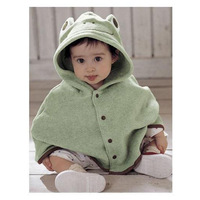 Hot-selling Baby  frog cloak style cape