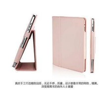 For ipad leather case genuine leather case for ipad protective case tablet case belt mount