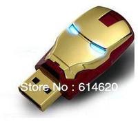 Free Shipping. 2GB 4GB 8GB 16GB 32GB  Iron man USB Flash Drive