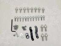 motorcycle parts Spike Fairing Bolts Screws Washers Kit For Suzuki GSXR 1000 2003 2004