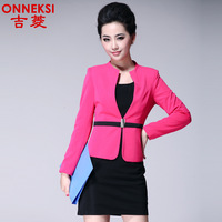 Onneksi 2014 New spring and autumn office lady women OL uniform career dress set ( coat +dress) fashion business set for work614