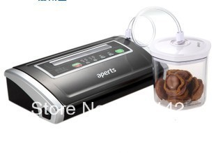 high quality  Aperts # V100% S5500-- Deluxe /Marinate Vacuum food sealer Specialist Fast Delivery  Free 2 rolls bag