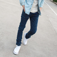 Cattle 26 non-mainstream slim pants male casual jeans elastic jeans p55 -345