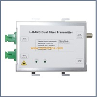 950~2600MHz L Band, Dual fiber out SAT-IF Optical Satellite Transmitter OPT-2600DS
