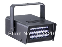 LED Strobe light- Party Disco Mini Strobe stage Light- Led ultra bright 24pcs*10mm Mini LED Strobe Light,LED Effect Light(China (Mainland))