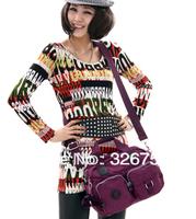 European and American leisure bag, Ms. portable shoulder bag nylon bag