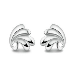 925 pure silver stud earring Women accessories exquisite ok stud earring silver birthday gift(China (Mainland))
