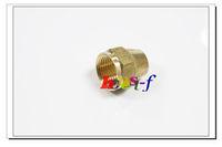 "10 X New Brass 1/4"" OD Short Flare Nut ,Brass Flare Tube Fitting"