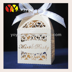 wedding favors and gifts box with free name logo(China (Mainland))