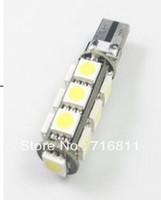Free Shipping Car ERROR FREE CANBUS W5W T10 5050 LED SIDE LIGHT Interior Light BULB 13SMD 6pcs/lot