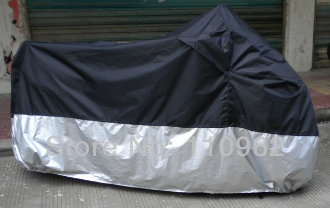 Waterproof Motorcycle Cover Scooter Cover Quality Oxford Fabric 210D All Weather Reflective -XXXXL(biggest size)(China (Mainland))