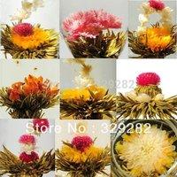 36pcs,18 kinds Blooming tea, scented tea,flower tea,Artistic Blossom Flower Tea,Free Shipping