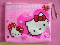 PINK Hello kitty Girls PURSE COINS BAG Keychain 1PCS