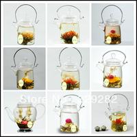 10pcs,10 kinds Blooming tea, scented tea,flower tea,Artistic Blossom Flower Tea,Free Shipping