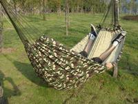 Camouflage hammock outdoor hammock broadened double hammock 200 150cm