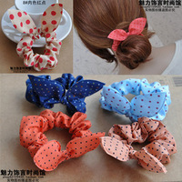 Accessories fashion all-match small rabbit ears headband hair rope adult child hair accessory hair accessory