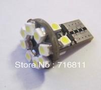 Free Shipping Car ERROR FREE CANBUS W5W T1012LEDS SIDE LIGHT Interior Light BULB 6pcs/lot