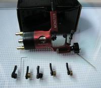 Wholesale - RCA rotary tattoo machine swiss motor MONSTER tattoo machine new brand with 5 bearings red colour