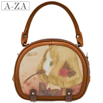 Aza 2013 women's spring handbag sweet three-dimensional flower bag handbag messenger bag 3061