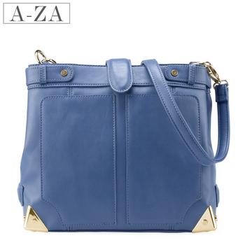 Aza 2013 spring women's vintage handbag candy color bags shoulder bag messenger bag 3256