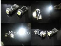 Free Shipping Car ERROR FREE CANBUS W5W T10 5050 LED SIDE LIGHT Interior Light BULB 10pcs/lot