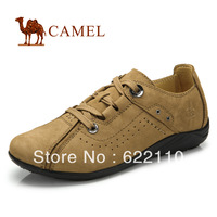 Free shipping CAMEL women's the  first layer of cowhide casual single shoes
