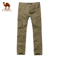 Hot seller CAMEL men's clothing casual pants pocket decoration daily casual;comfortable for a whole day