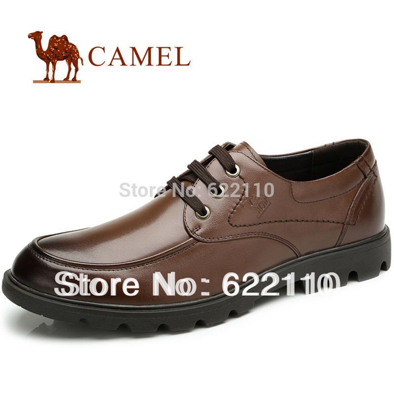 CAMELmen's brief commercial casual formal leather wedding shoes new arrival(China (Mainland))