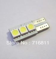 T10 3LED 5050SMD Car ERROR FREE CANBUS W5W LED SIDE LIGHT Interior Light BULB 10pcs/lot Free Shipping