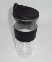 2PCS/Lot High Resistance double wall Glass coffee cup 470ml,High Quality Double layer glass Coffee/Tea Tumbler