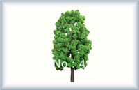 100 pcs Wholesale -180/90mm style random  wire   tree Landscape Train Model Scale architectural scenery
