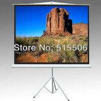 "80"" inch Matt White tripod screen,16:9 high quality tripod projection screen,tripod projector screen,Fedex free shipping"