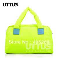 free shipping stylish  candy color nylon  travel bag ,shoulder bag