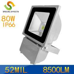 CE&ROHS Approval High Power led projecting light 80W LED Flood Light outdoor 52mil led wall washer Cool/Warm White free shipping(China (Mainland))