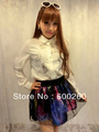 Free shipping/5pcs Spring 2013 new gradient blooming Star skirt Eugen veil Puff skirts short skirts//F0123