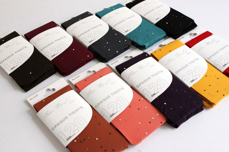 Free shipping 2013 spring women's velvet pantyhose sock sparkling diamond socks Pantyhose WB0059(China (Mainland))