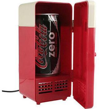 2013 New Mini USB USB Fridge Cooler Gadget Beverage Drink Cans Cooler/Warmer Refrigerator