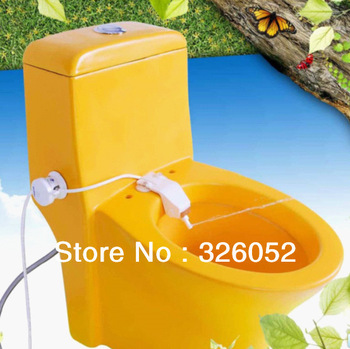 2013 hot sale Micro Soft Spray Toilet Bidet ABS plastic potable OEM cold water toilet bidet