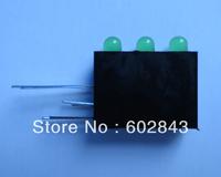 1000PCS 3mm 3 GREEN LED LEDS Indicator Lights