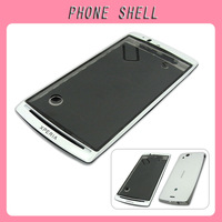 FREE SHIPPING! Full Housing Frame Chassis Cover For Sony Ericsson Xperia Arc X12 LT15I LT18I (Color: White)
