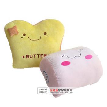 Crystal fish breakfast bread cushion pillow mandoo nap pillow car cushion decoration