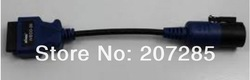 useful for IVECO 30PIN with function 30 pin connector adapter cable(China (Mainland))