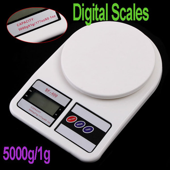 Digital Kitchen Weight Food Scale,5000g/1g, freeshipping, Dropshipping wholesale