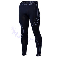 Orca breathable perspicuousness male sports fitness running tight fitting trousers or002